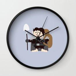 Samwell the Gardener Wall Clock