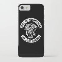 anchorman iPhone & iPod Cases featuring Sons of Anchorman by Brandon Wilhelm ART