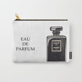 Classic Black Parfum Carry-All Pouch