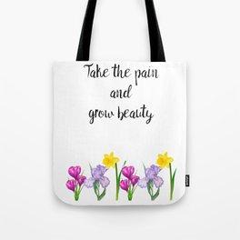 Grow Beauty Tote Bag