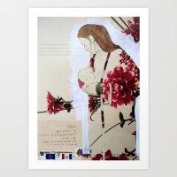 bond Art Prints featuring Bond by Suzanna Schlemm