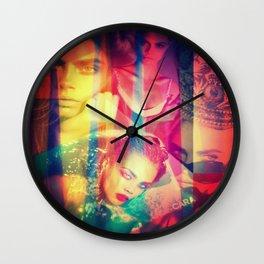 Cara Pop Wall Clock