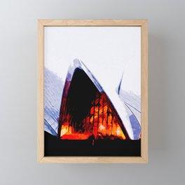 Sydney Opera Framed Mini Art Print