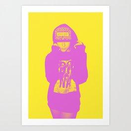 PA DUOTONE Art Print