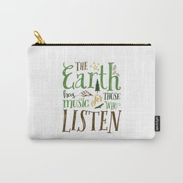 The Earth's Music Carry-All Pouch