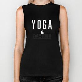 Yoga & Chill Biker Tank