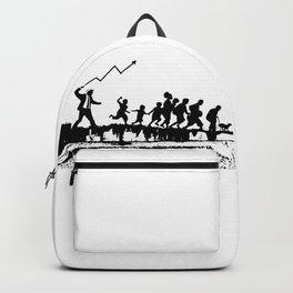 Banksy Artwork Backpack