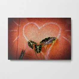 Concrete Jungle Love Metal Print