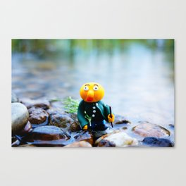 exhausted gwerg Canvas Print