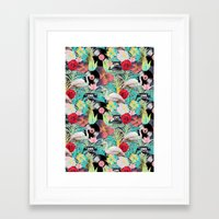 rockabilly Framed Art Prints featuring rockabilly mix by kociara