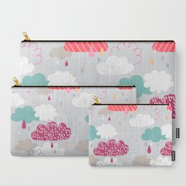 Rain and clouds Carry-All Pouch