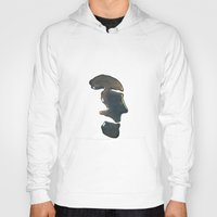 oil Hoodies featuring oil by christine nissen