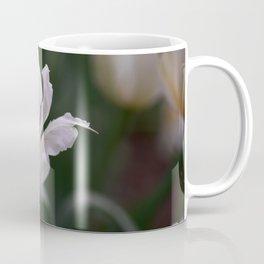 Expressive White Tulip Coffee Mug