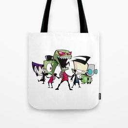 Invader Zim Tote Bag