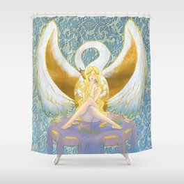 Lost Leda Shower Curtain