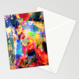 Color Loving Schitzo  Stationery Cards