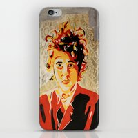 dylan iPhone & iPod Skins featuring Dylan by Ben Brush