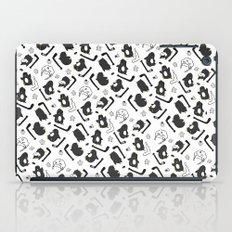 penguin print iPad Case