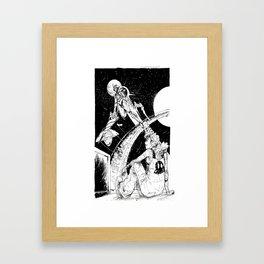 Space Travel Framed Art Print