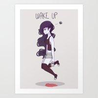 marceline Art Prints featuring Marceline by abicrais