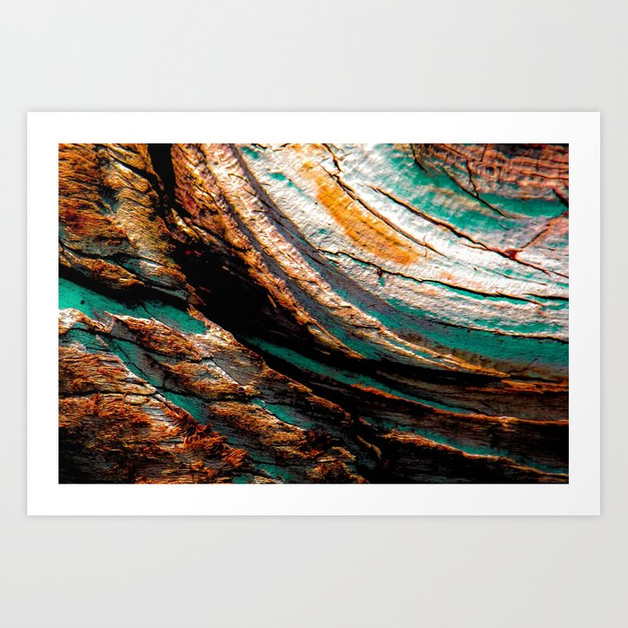 """Wood Flow"" Art Print"