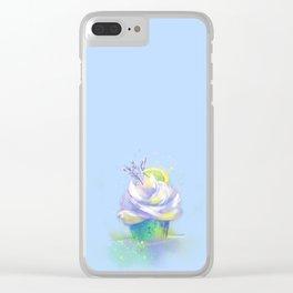 Lemon Lavender Clear iPhone Case