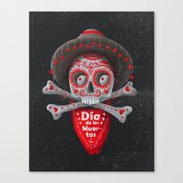 Día de Muertos Canvas Print