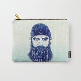 CALM SEAS NEVER MADE A SKILLED (Blue) Carry-All Pouch