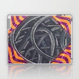 Junction - purple/orange Laptop & iPad Skin