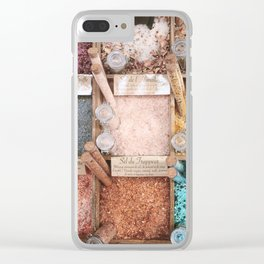 Prettiest of salts, Nice France Clear iPhone Case