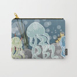Floatin' Jellyfish Carry-All Pouch