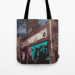 New York Street Artist Tote Bag