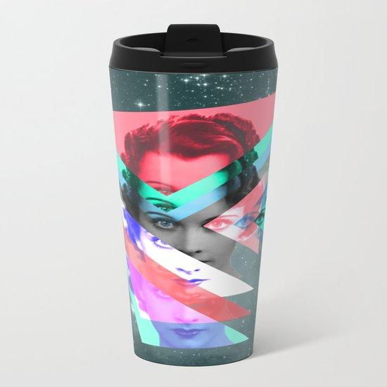 galactic implosion Metal Travel Mug