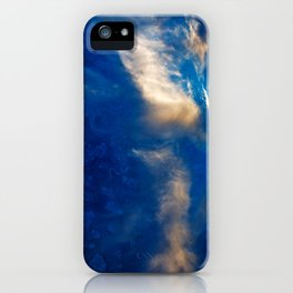 Glowing Acrylic Clouds iPhone Case