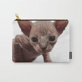 Freaky Cute Furless Sphynx Kitten Carry-All Pouch