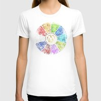 magic the gathering T-shirts featuring Magic the Gathering - Faded Guild Wheel by omgitsmagic