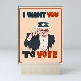 Bernie Mini Art Print