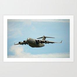 Air Force C-17 Loadmaster Art Print