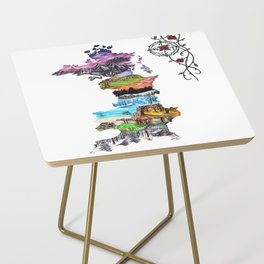 Prythian (with Compass) Side Table