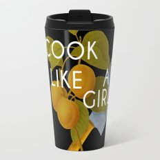 cook like a girl Travel Mug