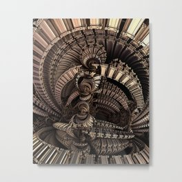 SwirlingThoughts Metal Print