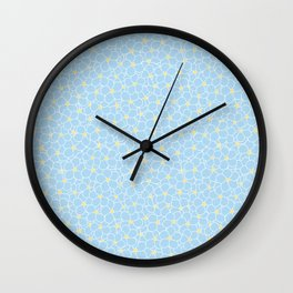 Forget Me Knot Sky Wall Clock