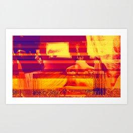 Figueres, Spain | Project L0̷SS   Art Print
