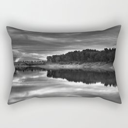 Clouds on the water Rectangular Pillow