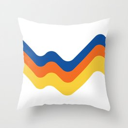 Sound Wave Throw Pillow