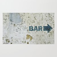 bar Area & Throw Rugs featuring BAR by ollily