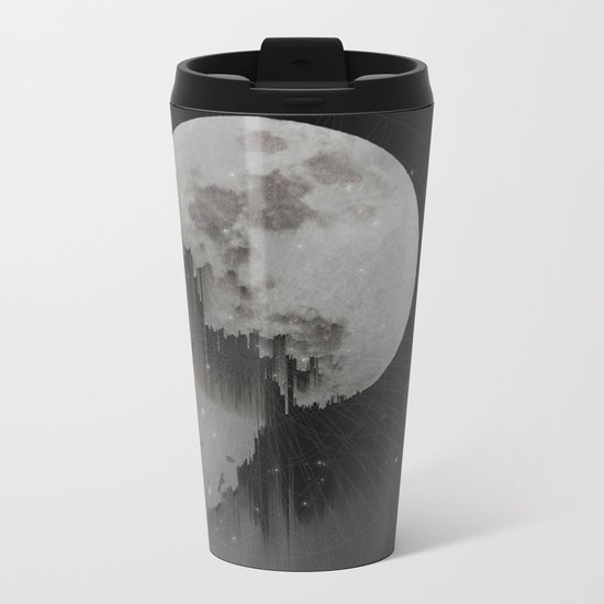Sacred Moon Metal Travel Mug