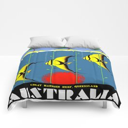Australia Great Barrier Reef Queensland Comforters