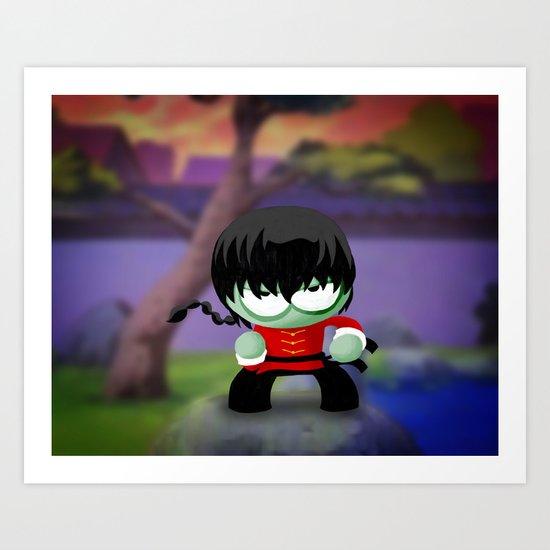 Ranma Saotome! Art Print
