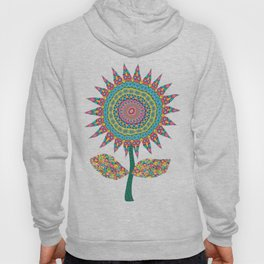 Fabby Flower-Eden colors Hoody